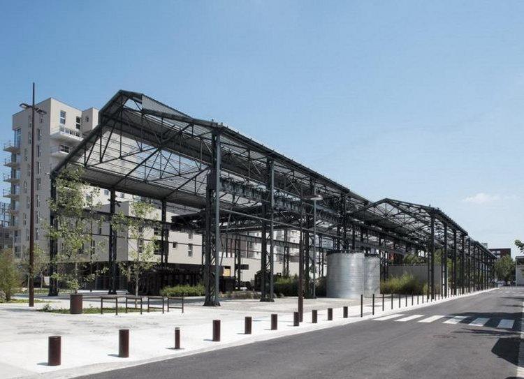 Adh architectes jardin des fonderies restauration des for Jardin couvert lyon
